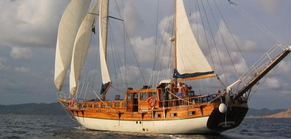 Goleta: una embarcación de lujo