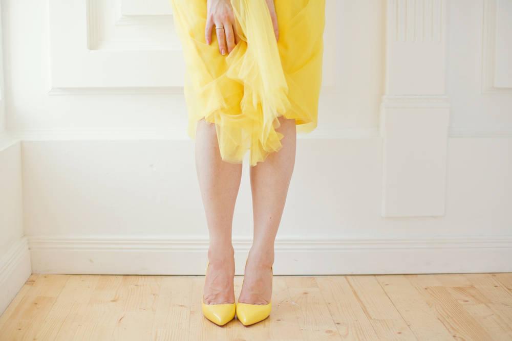 Los vestidos midi y cómo combinarlos